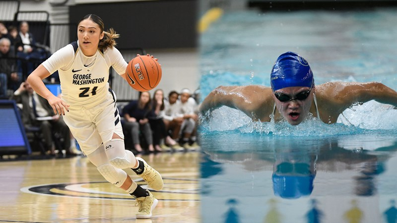 Bautista and Zhang Nominated for NCAA Woman of the Year