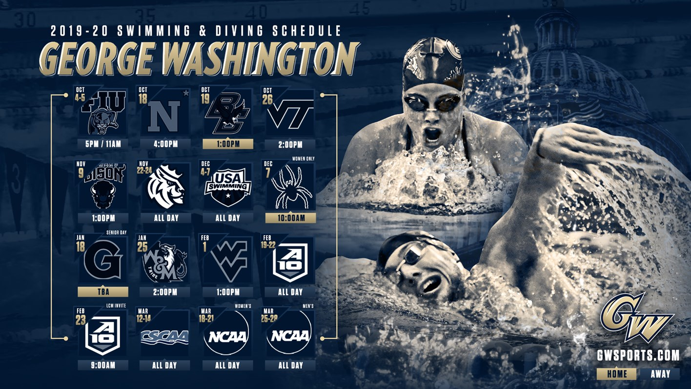 Men's Swimming and Diving - George Washington University