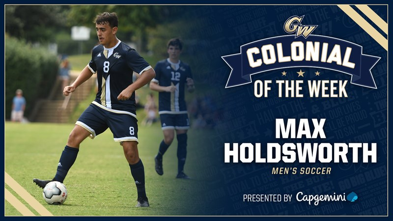 Colonial of the Week Presented by Capgemini: Max Holdsworth